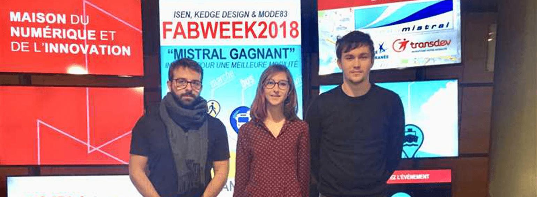 Fabweek 2018 : une semaine sur l'innovation dans la mobilité - KEDGE