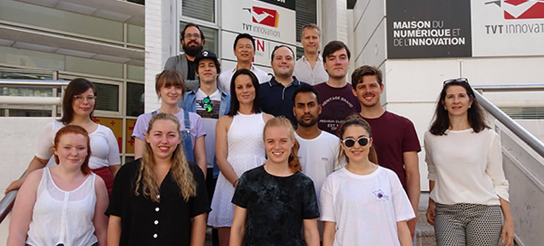 Des étudiants internationaux en Summer School à Toulon - KEDGE